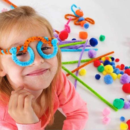 YOYO POMPOM'S : Kit d'Activités Manuelles et Loisirs Créatifs Pour Enfants