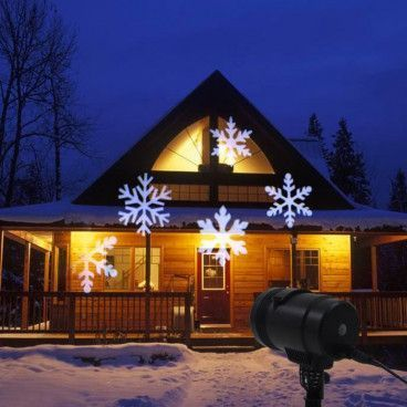 DECORATIVE LED PROJECTOR : Projecteur Extérieur ou Intérieur