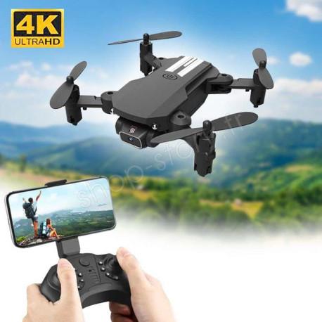 MINI DRONE 4K : Aéronef Miniature avec Camera Grand Angle et Commande WiFi via Smartphone