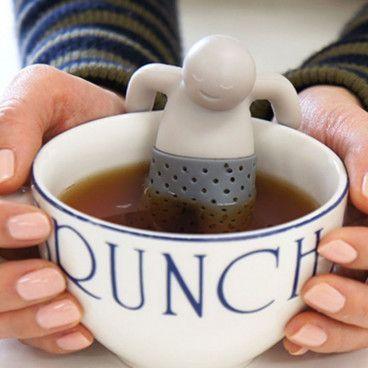Infuseur à Thé 3,99 € Infusion Filtre Passoire à Thé en forme de Mr. Tea
