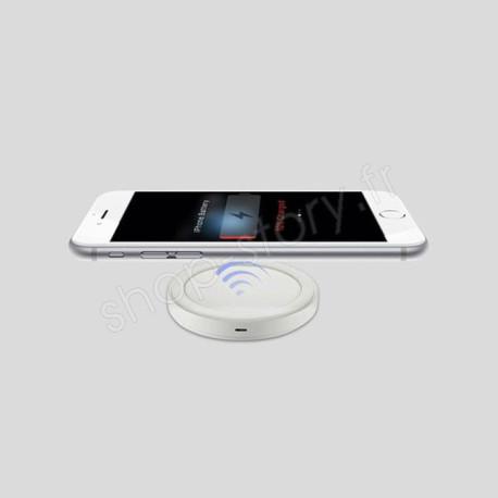Chargeur Sans fil à Induction pour iPhone et Smartphones Samsung Sony HTC LG Micro-USB