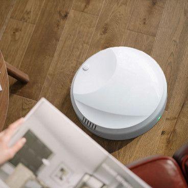 CLEAN ROBOT : Aspirateur-Robot Autonome à Recharge USB