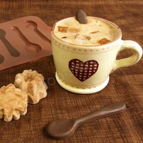CHOCOSPOON : Moule à Cuillères en Chocolat