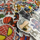 STICKERS HEROS : Pack de 100 Autocollants Super Héros