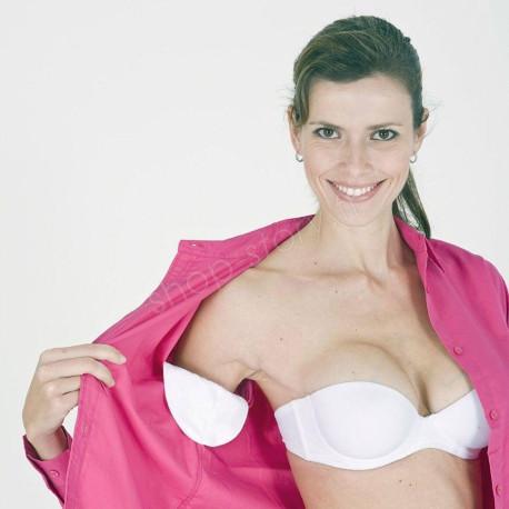 Lot de 12 Patchs Blanc Anti-transpiration et Anti-Auréoles Homme Femme