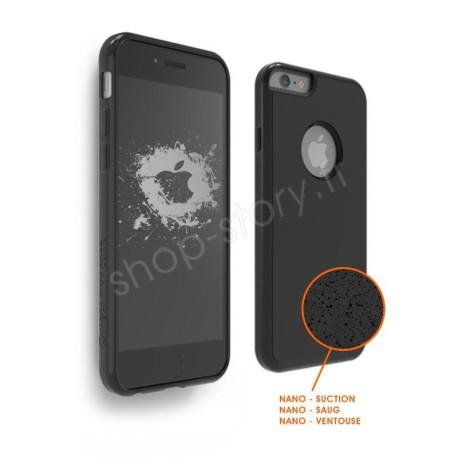 SHOP STORY - Coque Anti-gravité pour iPhone avec Nano Ventouse pour une Adhérence sur Surfaces Lisses