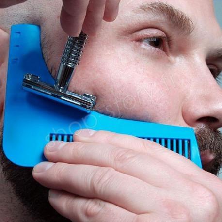 Peigne à Tailler la Barbe pour des Lignes Parfaites après Rasage