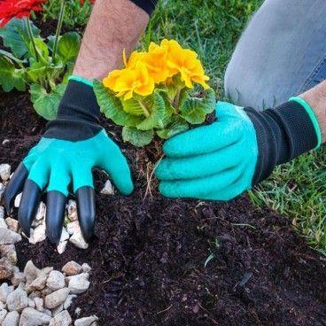 Gants de Jardinage avec 4 Griffes pour Creuser Yard hands