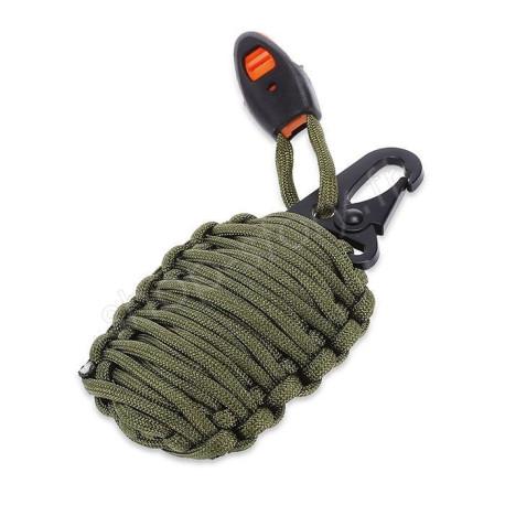 Grenade de Survie 21 Pcs avec Mousqueton