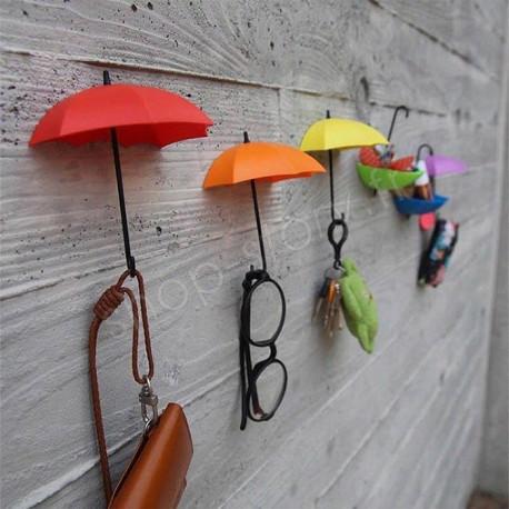 Pack de 6 Parapluies Vide Poche avec Fixation Murale
