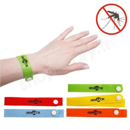 Lot de 10 bracelets anti-moustiques 100% naturel à base de citronelle