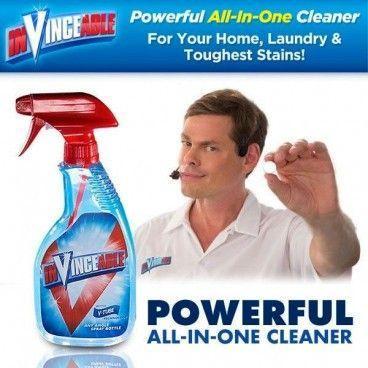 Spray Détachant Multi-Usage Tout en Un Puissant et Rapide InVinceable
