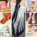 Chaussettes Socquettes 3D Imprimées - Pack de 7 - Taille unique 35 à 42