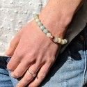 Bracelet de Méditation avec Perles Amazonite