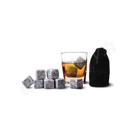Pierres À Whisky - Glaçons En Pierre Pour Rafraichir Sans Diluer Champagne Pastis Vodka Gin