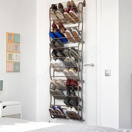 Range Chaussures 36 Paires A Suspendre Sur Porte