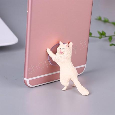 Catphone – Adorable support de téléphone