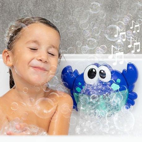 Crabe musical avec bulles pour le bain