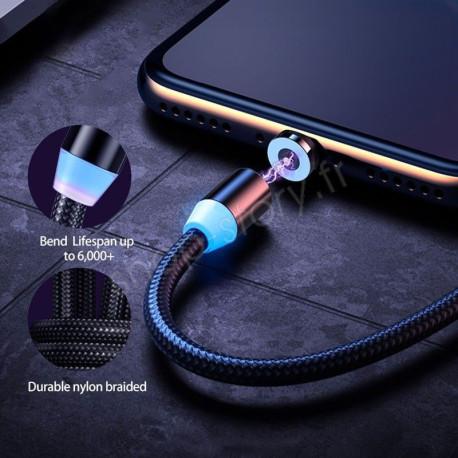 Câble de recharge Magnétique Universel