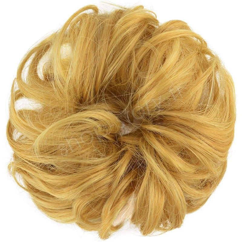 Chignon magique Ajustable Blond foncé
