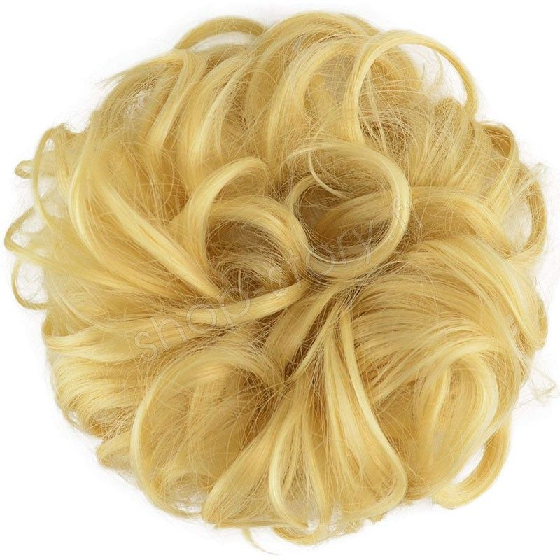Chignon magique Ajustable Blond clair