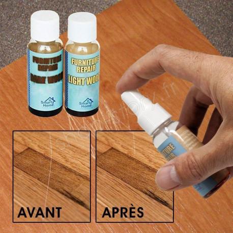 Vernis réparateur pour bois en spray