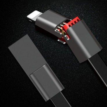 MAGIC CABLE - Câble USB Réparation Rapide pour Iphone, Type C et Android
