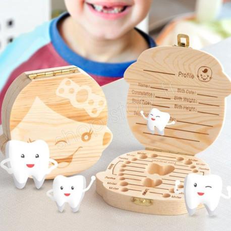 Boîte à dents pour enfants