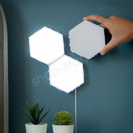 TILIGHT : Panneaux LED Modulables Sensibles au Toucher (Pack de 3)