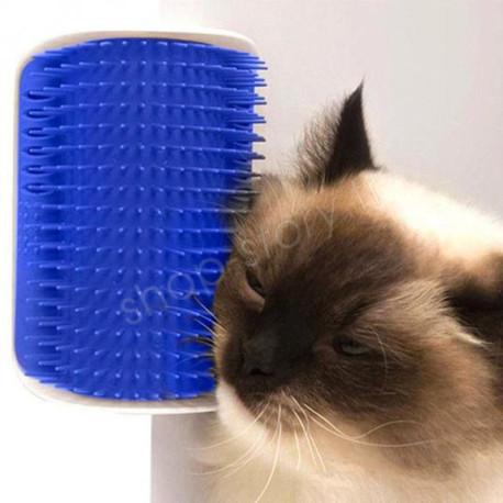 GROOMER : Brosse d'Angle de Toilettage pour Chat.