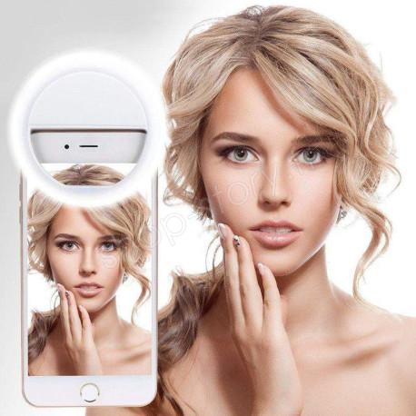 SELFIE LIGHT : Lampe LED à Selfie pour Smartphone