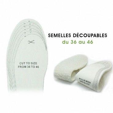 Semelles thermiques pour garder les pieds au chaud