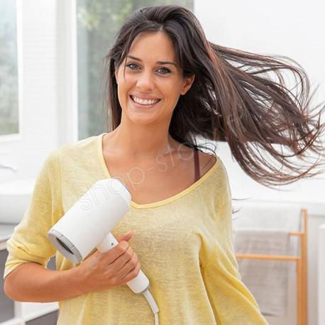 VENTIO : Sèche-Cheveux Ionique Pliable avec Accessoires