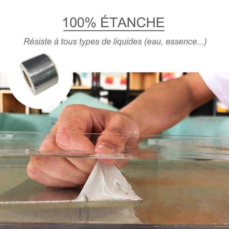L'Aluminium Tape est waterproof